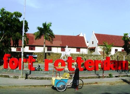 Benteng Rotterdam Wisata Sulawesi