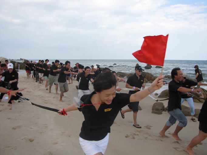 Tổ chức teambuilding -Thay Đổi Để Thành Công