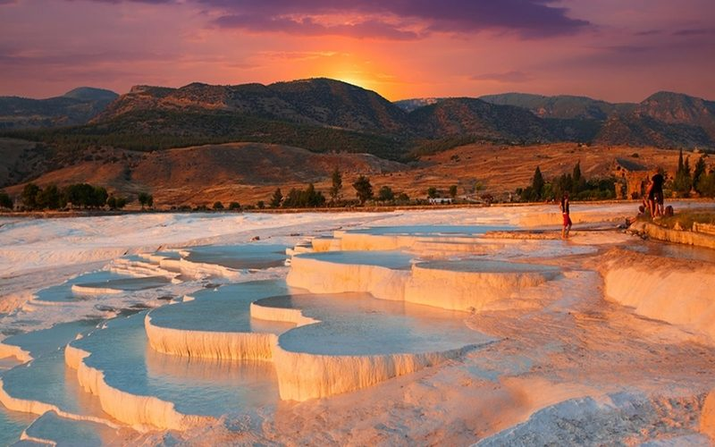 PAMUKKALE CLEOPATTRA'S POOL